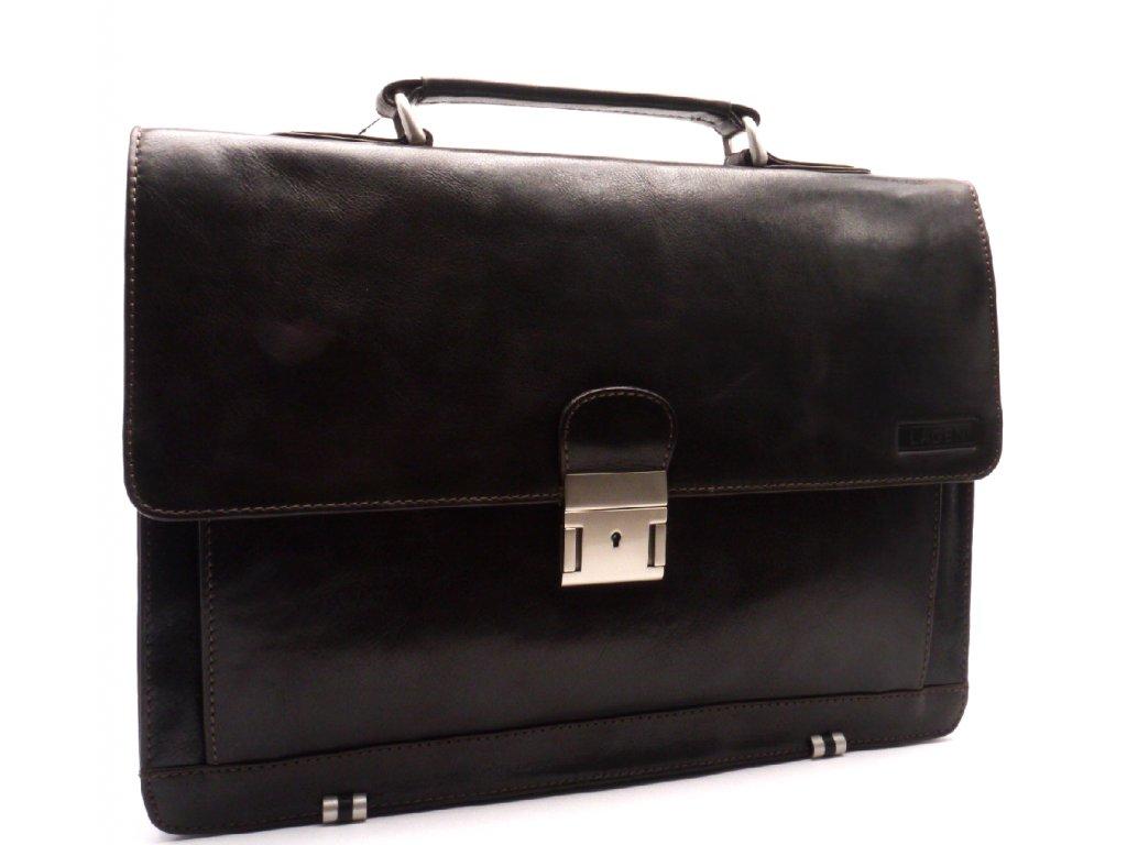7c0a8dab6 Pánská kožená taška 2079/c hnědá - MODA ČAPEK