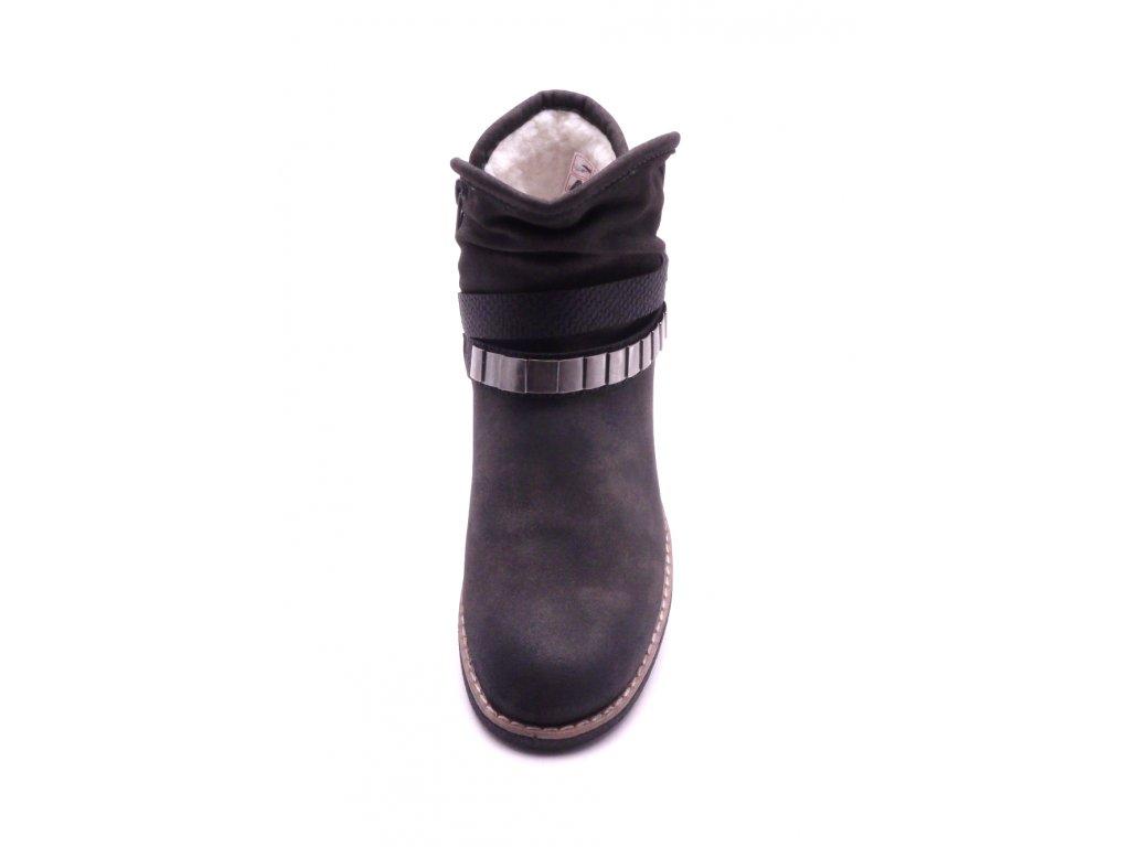 Dámská kotníčková šedá obuv 94671-45 ... 559ef3da0b