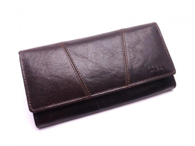 Dámská peněženka PWL-388/T DARK BROWN