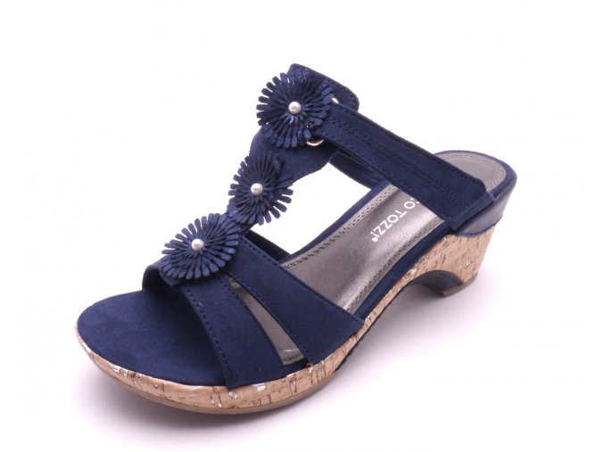 Dámské pantofle 2-27213-890 NAVY