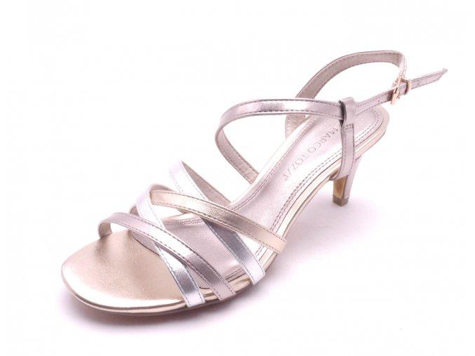 Dámské sandály na podpatku 2-28301-532