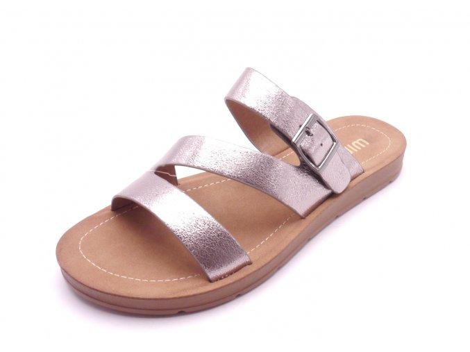Dámské elegantní pohodlné pantofle SQ91594-2