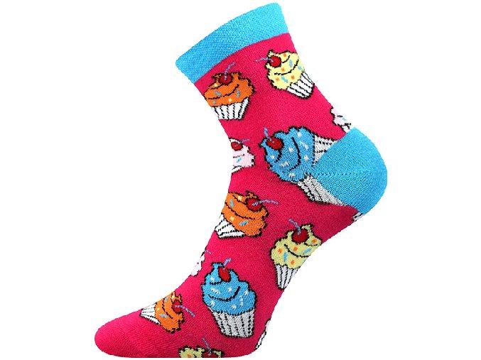cupcake ponozky