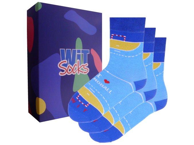 Dárkový set - Sporty - ponožky Házená