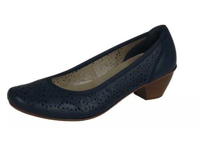Dámská obuv na nízkém podpatku 47665-14