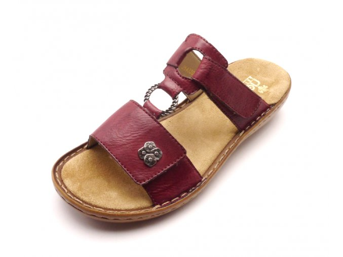 Dámské elegantní pohodlné pantofle 60829-35