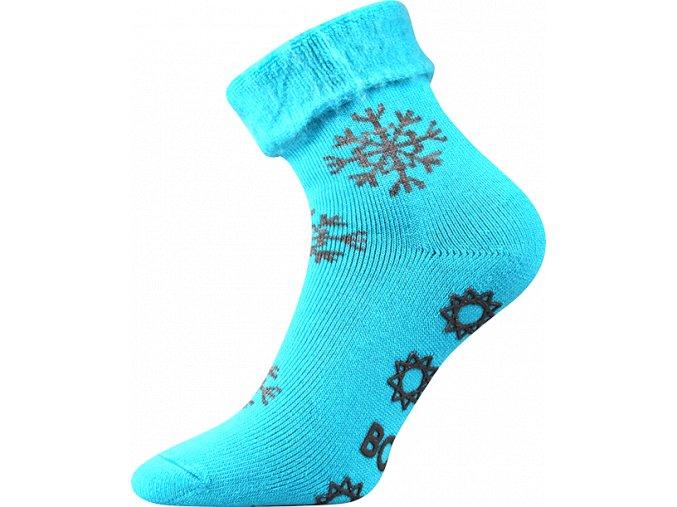 ponozky lujza modre