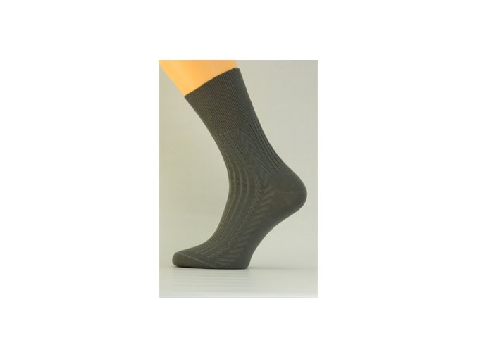 Ponožky P004 šedé