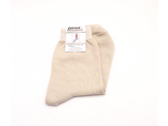 Ponožky P025 - béžová