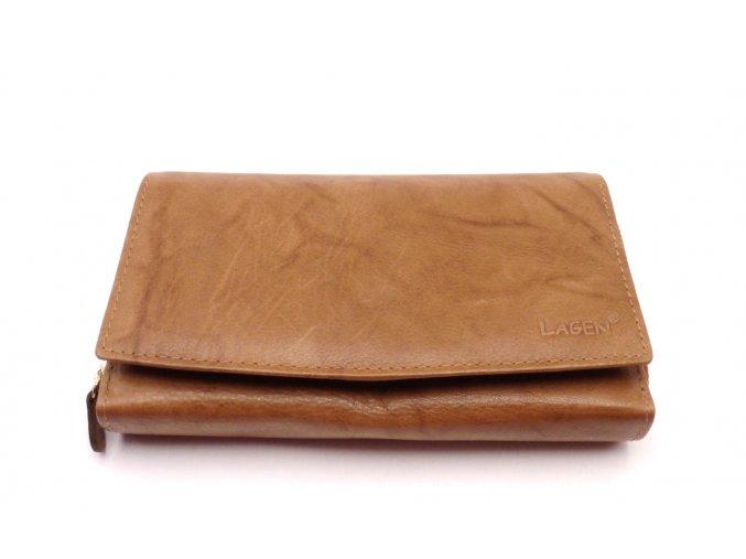 Dámská kožená peněženka V-57
