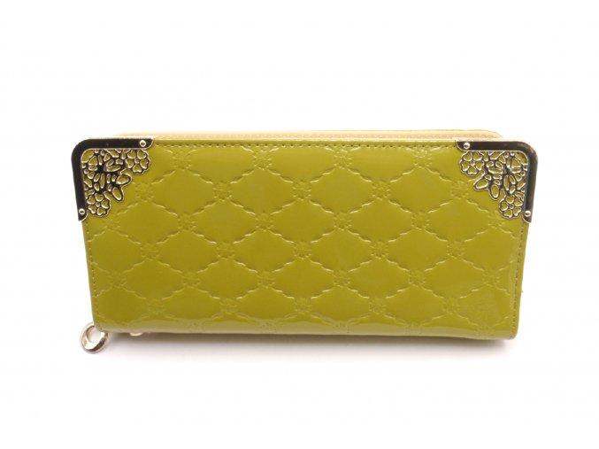 Krásná peněženka v zelené barvě MCPVZR57