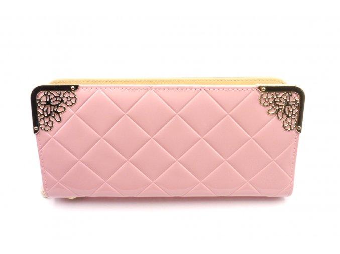 Krásná peněženka ve světle růžové barvě MCPVZR53