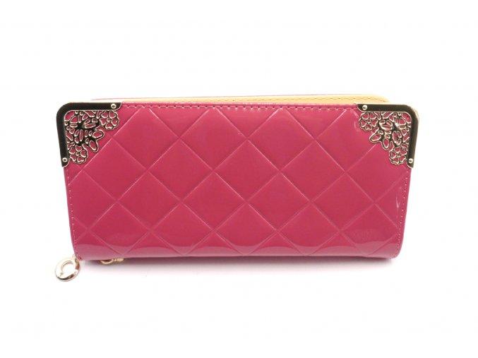 Krásná peněženka v tmavě růžové barvě MCPVZR93