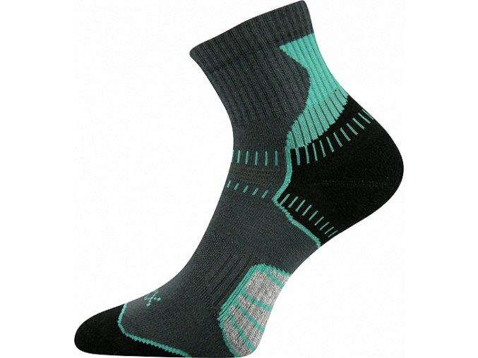 ponozky falco zelena