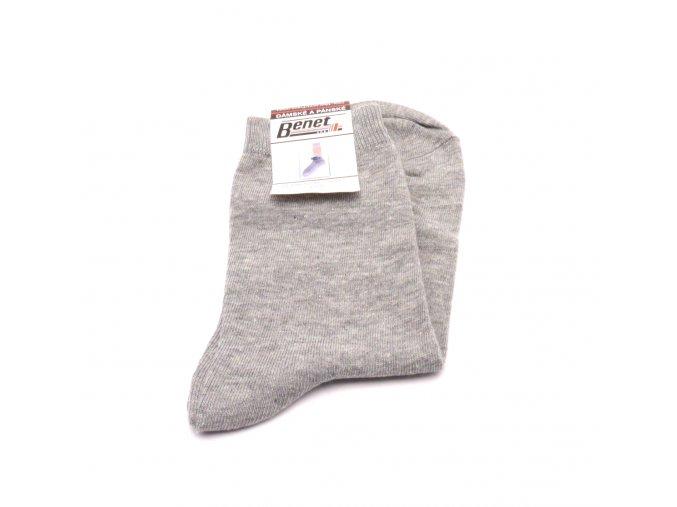 Ponožky P025 - světle šedé