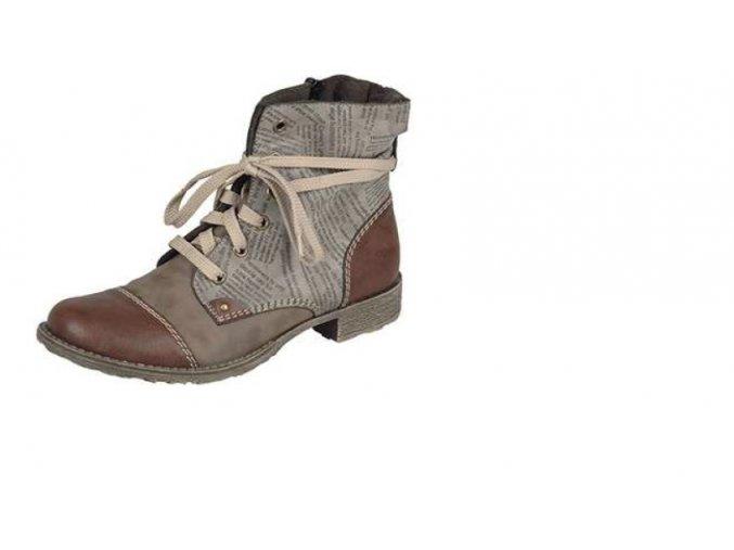 Dámská mírně zateplená obuv 70822-24