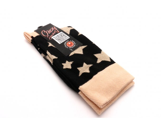 Ponožky hvězdy broskvové