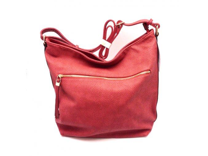 Krásná červená kabelka 33678