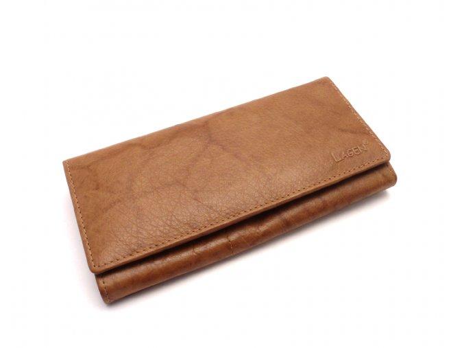 Dámská peněženka V-102 Cognac