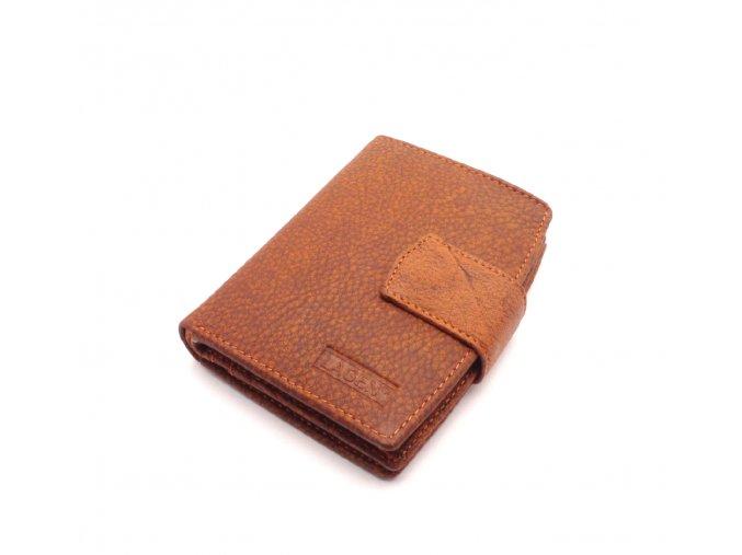 Dámská kožená peněženka B 01/W ORANGE