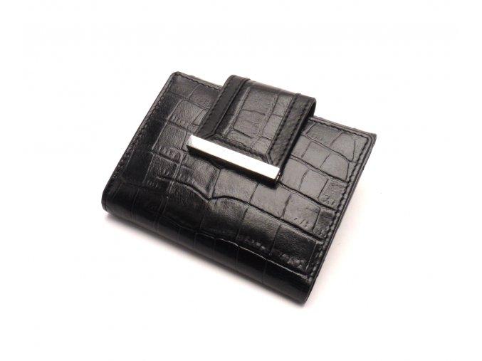 Dámská kožená peněženka 61175 BLACK
