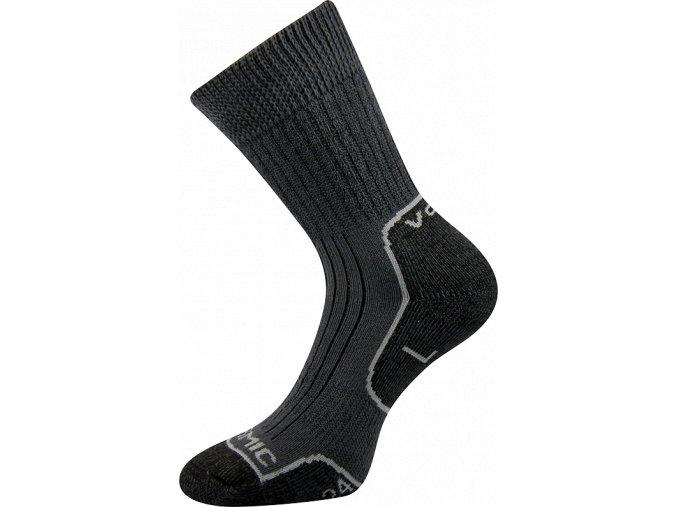 ponozky zdravotni tmave sede