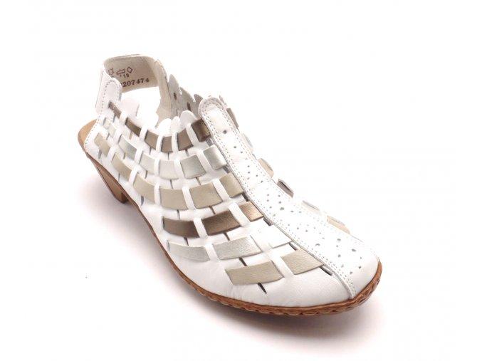 Dámská proplétaná obuv 46778-81