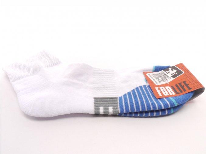 Ponožky Run  - bílá