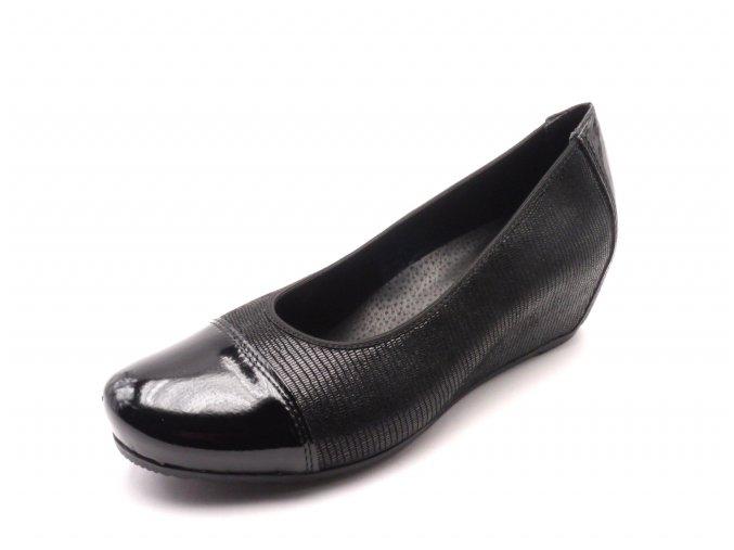 Dámská obuv na klínku L4764-00
