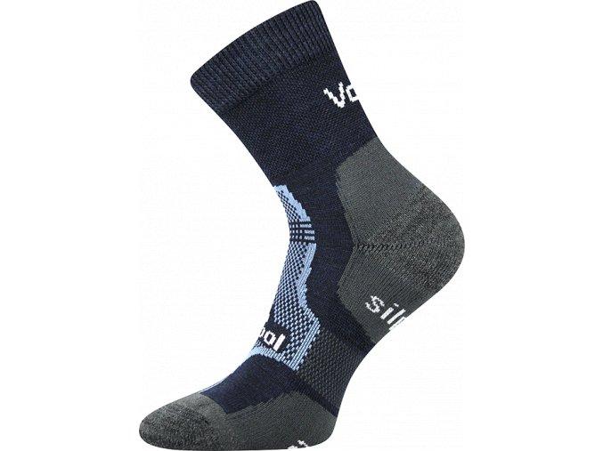 ponozky granit tmave modre
