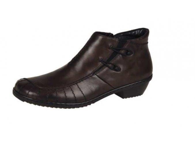 Dámská pohodlná hnědá obuv m1693-25