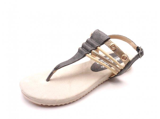 Dámské luxusní sandály s paměťovou pěnou V5373-45