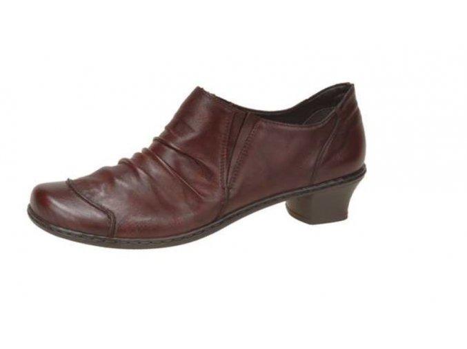 Dámská mírně zateplená elegantní obuv 52180-33
