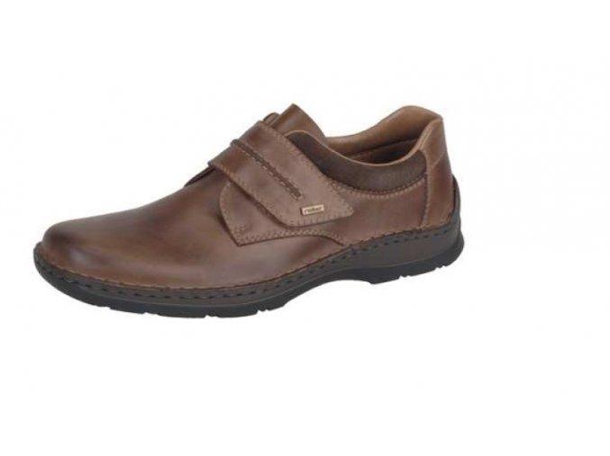 Pánská obuv se suchým zipem přes nárt 05358-25