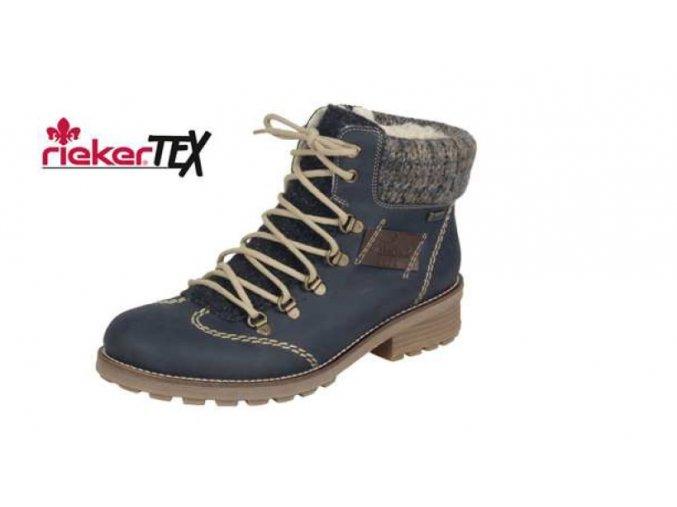 Dámská zimní sportovní obuv s kožíškem z0444-15
