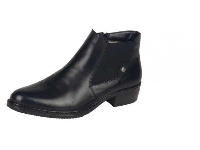 Dámská elegantní zateplená obuv 72661-00