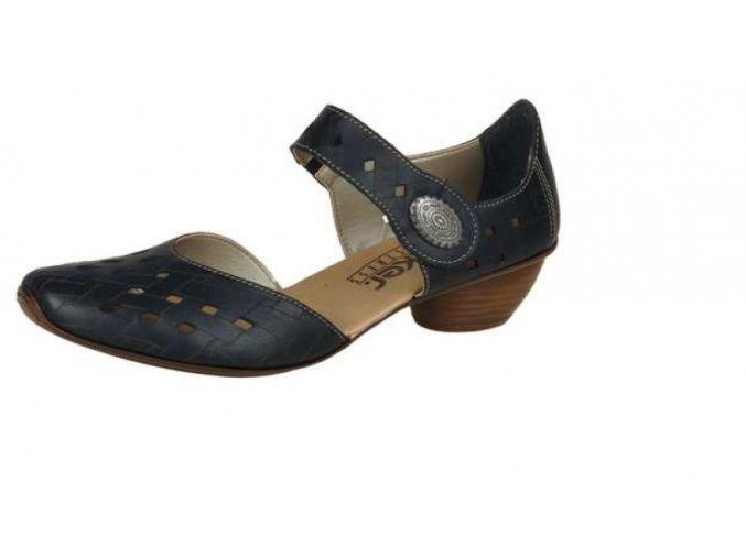 Dámská elegantní perforovaná obuv 43754-00