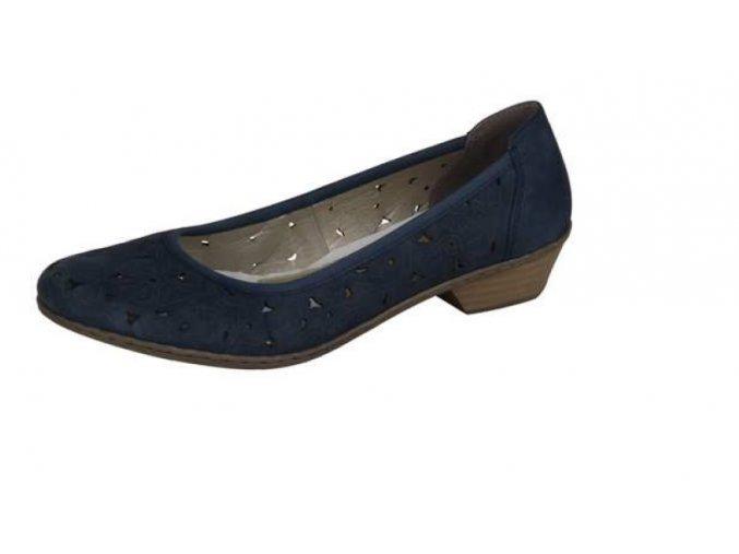 Dámská obuv na nízkém podpatku 42886-14