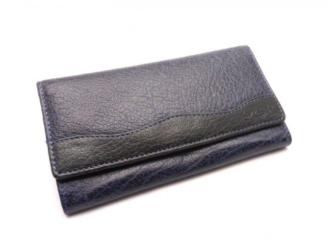 Dámská peněženka 4013 BLUE/BLACK