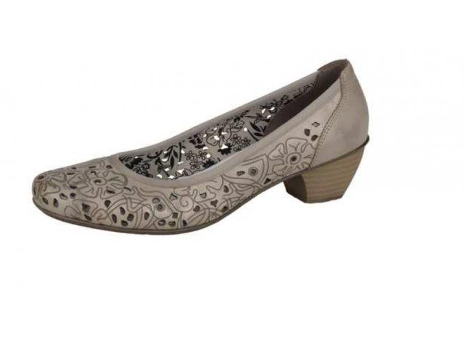 Dámská peroforovaná elegantí obuv 41776-64