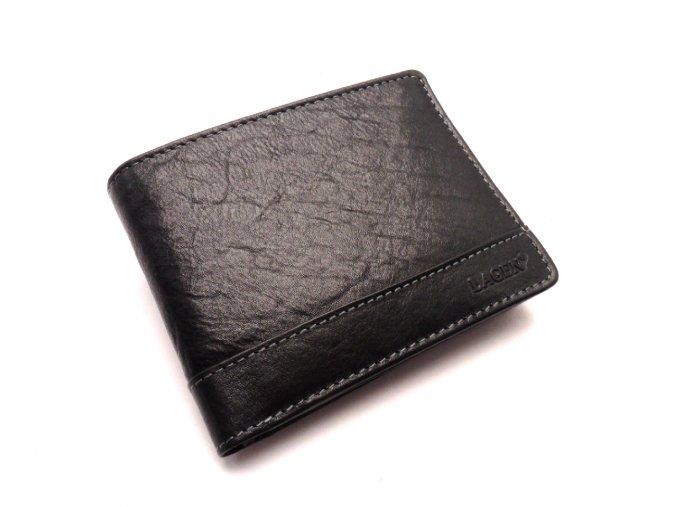 Pánská kožená peněženka 1996/T BLACK