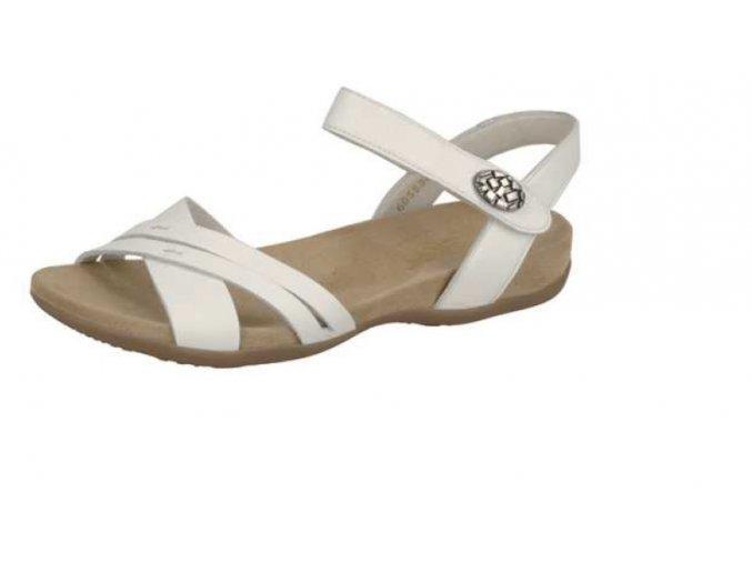 Dámské bílé sandály 60553-80