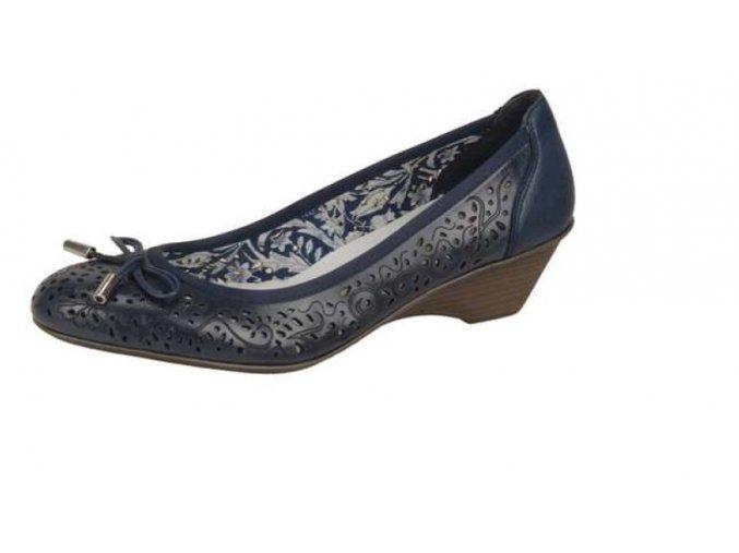 Dámská obuv na klínku 49256-14