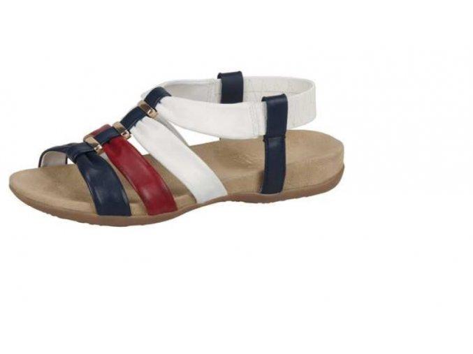 Dámské sandály tří barev velice módní 60560-14