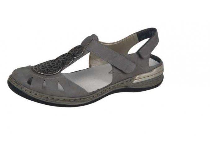 Dámské pohodlné sandály 54056-40