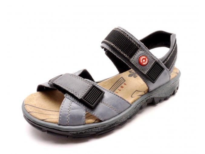 Dámský velice pohodlný sandál 68851-12