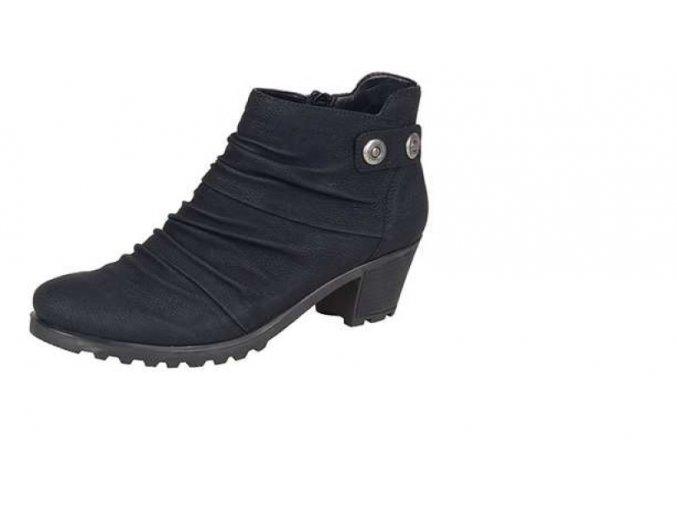 Dámská zimní kotníčková obuv y8063-00