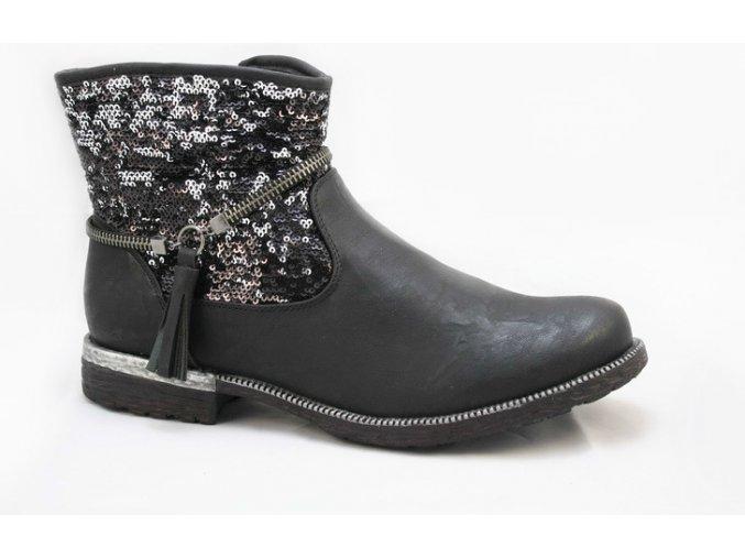 Dámská módní kotníčková obuv 95461-00