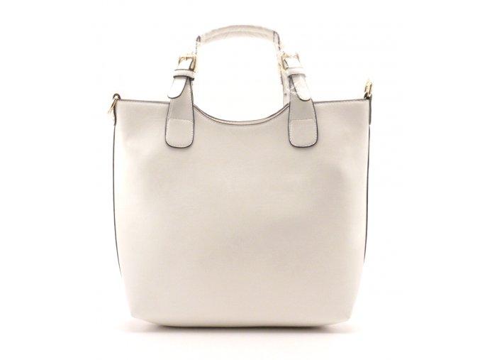 Dámská vkusná kabelka 13-05 bílá