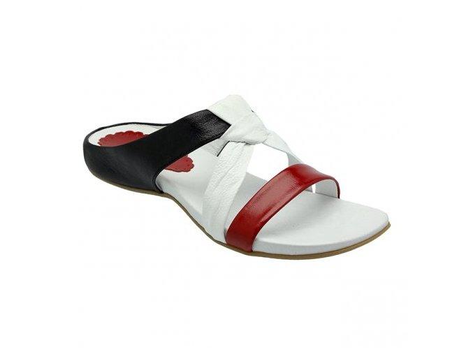 Dámské barevné pantofle 2245